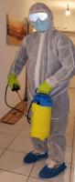 Arbeitsschutzkleidung für die Desinfektion
